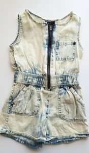 Other - Denim Romper for infant/toddler girls